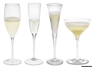 champagne glass flute