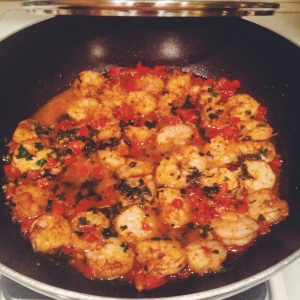 I have to say this spicy shrimp dish was a favorite as well.