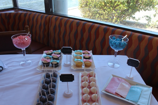 Candy & Cupcake Table