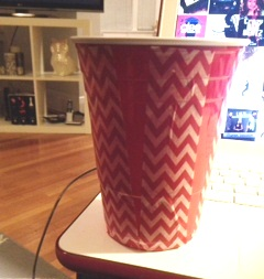 washi tape cup