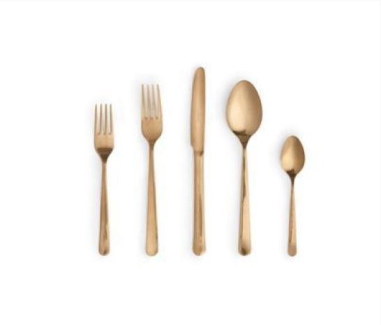 gold flatware 2